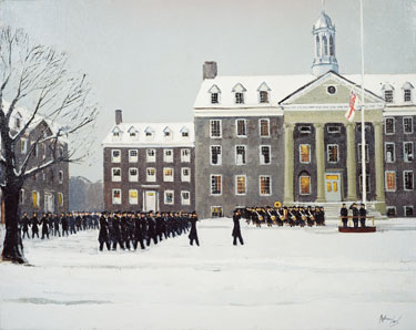 Graduation-March-Pass-by-Anthony-Law-HMCS-King's-WWII