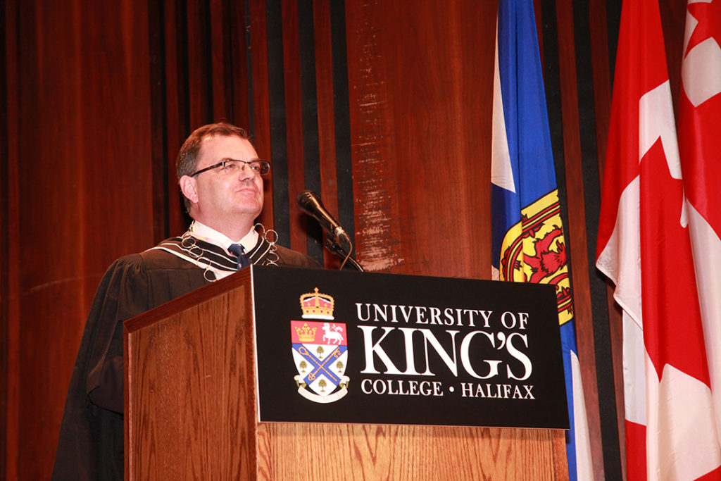 President Lahey's Introductory Remarks at King's 229th Encaenia