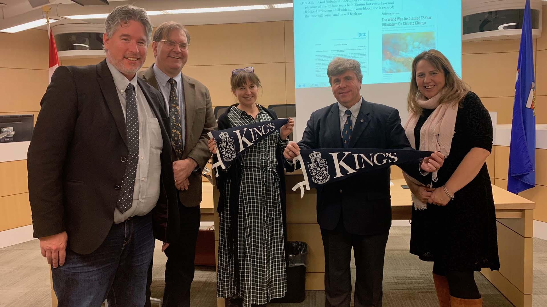 University of Calgary provisionally pre-admits King's Foundation