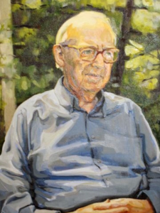 Portrait of the Rev'd Dr. Robert Darwin Crouse.