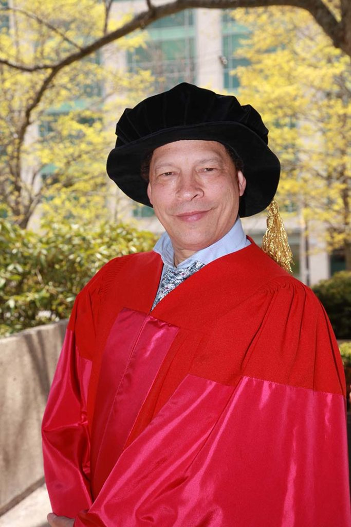 Honorary Degree Recipient Lawrence Hill