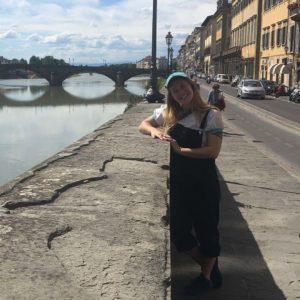 Taryn Neufeld in Florence