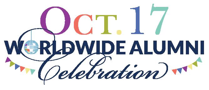 October 17, 2019 Worldwide Alumni Celebration