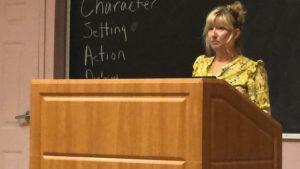 Jackie Torrens speaks on Why She Writes.