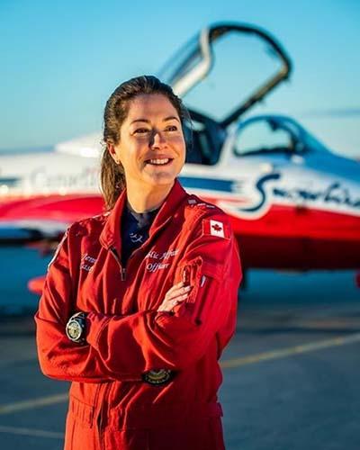 Capt. Jennifer Casey (photo courtesy Canadian Forces)