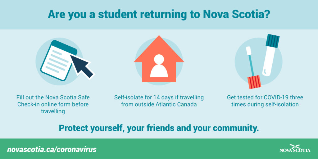 New rules for students returning to Nova Scotia