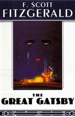 F. Scott Fitzgerald - The Great Gatsby book cover